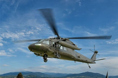 Rapid response on Sikorsky Black Hawk components