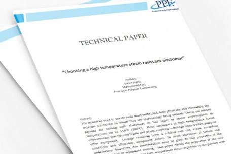 Choosing a High Temperature Steam Resistant Elastomer