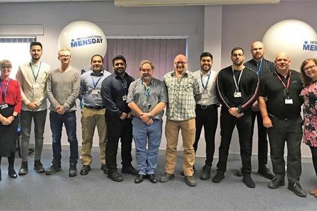 Blackburn College engineering students visit PPE