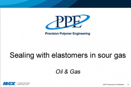 Webinar: Sealing with elastomers in sour gas (H2S)