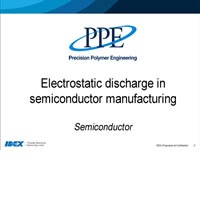 Electrostatic discharge in Semicon manufacturing