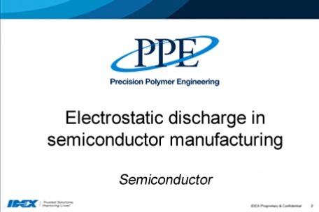 Webinar: Electrostatic discharge in semicon manufacturing
