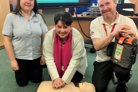 Local Primary School Receives Life-Saving Gift
