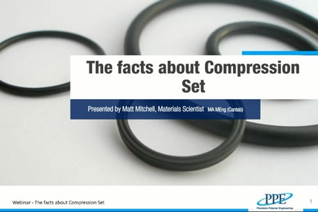 The facts about compression set
