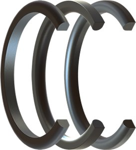 D Ring Seals Rubber D Rings Precision Polymer Engineering